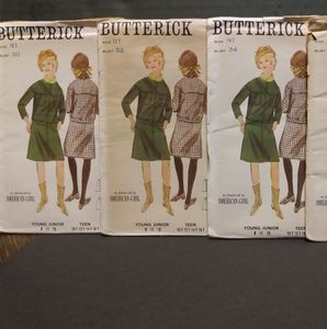 Vintage BUTTERICK #3671 Sewing Patterns/ UNCUT